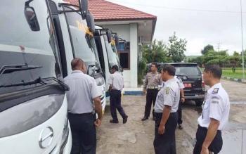 Kelayakan Bus Antarprovinsi Diperiksa Jelang Lebaran
