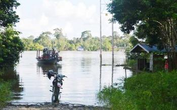 Desa di DAS Barito Terancam Terendam