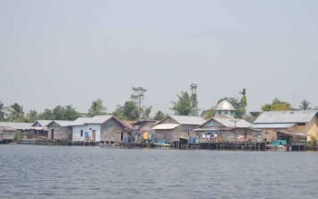 Warga Pulau Nibung Minta Permudah Jarigan Komunikasi