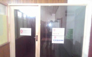Ruangan Khusus bagi Staf Jamkrida Kapuas tidak berfungsi karena selam 3 tahun belum disahkan Perda Jamkrida oleh DPRD Kapuas. BORNEONEWS/DJEMMY NAPOLEON