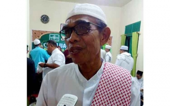 Ketua PWNU Kalteng Habib Said Fauzi Zain Bachsin. BORNEONEWS/ROZIKIN
