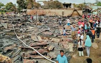 Pemkab Kotawaringin Timur Diminta Serius Tangani Kebakaran Pasar Tumbang Sangai