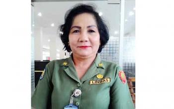 Kepala Biro Protokol dan Komunikasi Publik Setda Kalteng, Marianitha.