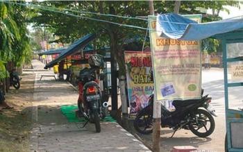 Warga Minta Pemkab Barut Tertibkan Pedagang di Bahu Jalan