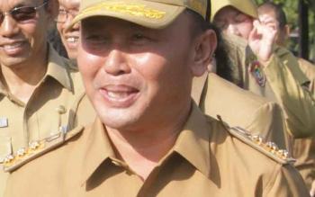 Gubernur Kalteng, Sugianto Sabran-BORNEONEWS/TESTI PRISCILLA