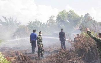 3 Kebakaran Lahan Terjadi di Sampit dalam Sepekan