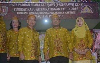 3 Kontingen Jadi Kandidat Terbaik Pesparawi ke V Tingkat Kabupaten Katingan