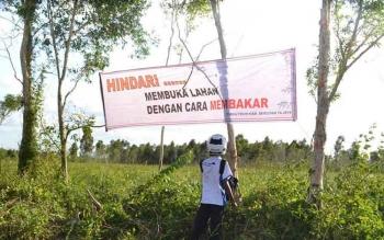 Bupati Seruyan Minta Perusahaan Sawit Aktifkan Posko Pengawasan Karhutla