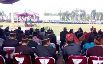 Gubernur Sugianto Sabran Hadiri Peringatan HUT Palangka Raya