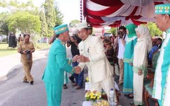 Gubernur Kalimantan Tengah Minta Walikota Palangka Raya Atur Ruko