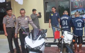 Polisi Ringkus Sarjana Ekonomi Spesialis Pencuri Sepeda Motor