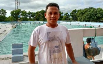 Eko Tamamie, pelatih Kalteng Putra. BORNEONEWS/RONI SAHALA