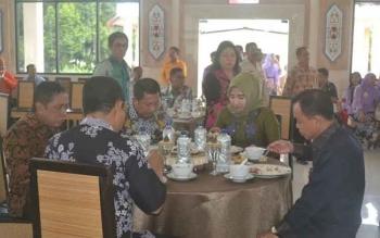 Ketua Pengadilan Tinggi Kalimantan Tengah Silaturahmi dengan Pemda Katingan