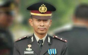 Kapolsek Tasik Payawan dan Kamipang, Ipda Nurheriyanto. BORNEONEWS/ABDUL GOFUR
