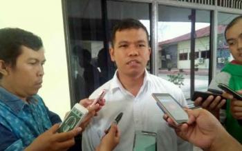 Kasat Reskrim Polres Palangka Raya AKP Erwin T H Situmorang. BORNEONEWS/BUDI YULIANTO