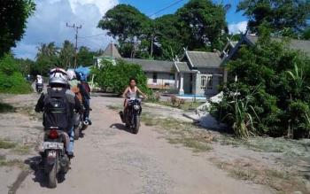 Penyerapan Anggaran Pendapatan dan Belanja Desa (APBDes) oleh pemerintah desa salah satunya Desa Sungai Tabuk, Kecamatan Pantai Lunci sudah mulai terserap. BORNEONEWS/NORHASANAH