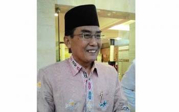 Khairil Anwar, Ketua Kafilah MTQ Kalteng. BORNEONEWS/TESTI PRISCILLA
