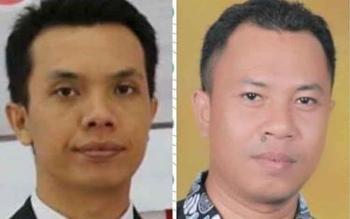 Pasangan Muhtadin dan Adi Nur Fajar meramaikan bursa Pilkada Seruyan 2018. Mereka menggalang dukungan sebagai bakal calon Bupati dan Wakil Bupati Seruyan 2018-2023. BORNEONEWS/PARNEN