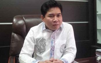 Ketua DPRD Kotawaringin Timur, Jhon Krisli. BORNEONEWS/M.RIFQI
