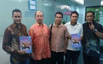 Asosiasi Pengusaha Indonesia (Apindo) bertemu Pengurus Pusat PMKRI, di Jakarta, Jumat (29/7/2016). Apindo menilai penting pemberdayaan pengusaha lokal di setiap daerah. BORNEONEWS/DOK