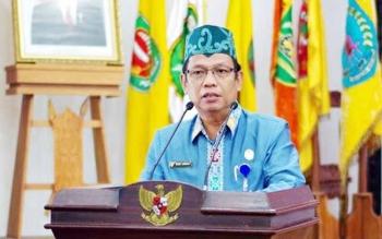 Sekretaris Daerah Pemerintah Provinsi Kalimantan Tengah, Siun Jarias. BORNEONEWS/RONI SAHALA