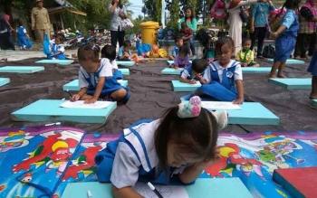 512 Pelajar di Kabupaten Sukamara Berasal Dari Kalbar