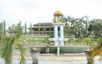 Pemkab Kotawaringin Barat akan memusatkan kegiatan Festival Keraton Nusantara di Istana Kuning, Pangkalan Bun. BORNEONEWS/RADEN ARYO