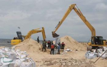 Pusat Gelontorkan Rp2,9 Miliar Tangani Abrasi Ujung Pandaran