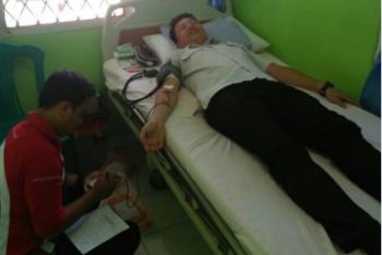 PT GSPP-PMI Gelar Donor Darah Peringati HUT RI ke -71