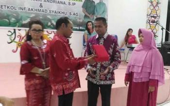 Pemkab Gumas Gelar Acara Kenal Pamit Dandim Kuala Kapuas