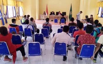 148 Berkas Pelanggaran Lalulintas Disidangkan Polres Sumakara dan PN Pangkalan Bun