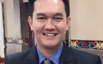 Sekretaris Komisi III DPRD Kotawaringin Timur, Hero Harapanno Mandouw. BORNEONEWS/M. RIFQI