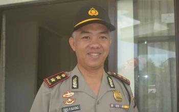 Kapolres Katingan, AKBP Tato Pamungkas Suyono. BORNEONEWS/ABDUL GOFUR