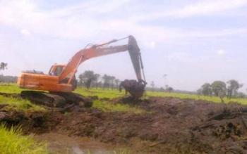 Selesai Keramba Ikan, Desa Kalinapu Fokus Program Infrastruktur Jalan.