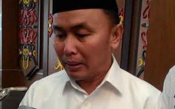 Gubernur Kalimantan Tengah, Sugianto Sabran. BORNEONEWS/TESTI PRISCILLA