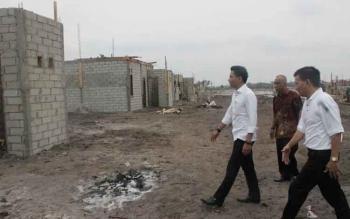 Pemkab Jamin Percepat Sertifikat Lahan Relokasi Warga Desa Ujung Pandaran