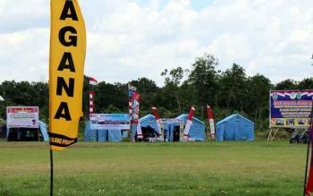 272 Peserta Hadiri Kemah Bhakti dan Jambore Tagana di Pulpis
