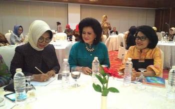 Wakil Bupati Pulang Pisau Hadiri Forum Komunikasi Perempuan Kepala Daerah
