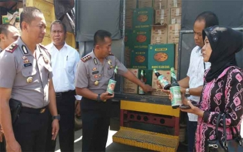 Jamu Madu Klanceng dan Tawon Klanceng Disita BPOM di Sampit