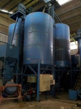 Sisa-sisa pabrik pengolahan jagung PD Agrotama Mandiri. BORNEONEWS/DOK