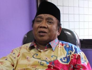 KETUA Umum Lembaga Dakwah Islam Indonesia (LDII) Pusat Prof. Abdullah Syam BORNEONEWS/ROZIKIN