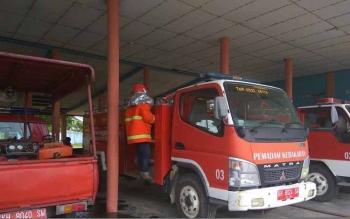 Posko Penanganan Karhutla, yang nantinya dibentuk Pemerintah Kabupaten Sukamara akan dipusatkan di Kantor Pemadam Kebakaran Sukamara. BORNEONEWS/NORHASANAH