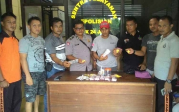 Warga Kelurahan Samba Kahayan Diringkus Polisi karena Miliki 716 Zenith dan 800 Dextro