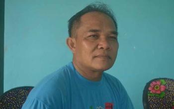 Ketua LSM Suara Rakyat Katingan Anto Saptono. BORNEONEWS/ABDUL GOFUR