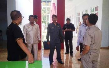 Wakil Ketua Komisi III DPRD Kotim Abdul Sahid dan anggota, inspeksi mendadak terkait pelayanan kesehatan di RSUD dr Murjani Sampit. Puskesmas bisa jadi BLUD untuk memperbaiki pelayanan. BORNEONEWS/M. RIFQI