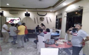 Kontingen PON Kalimantan Tengah menggelar malam keakraban di Hotel Barito Shinta, Bandung, Jawa Barat, Kamis (29/9/2016) pukul 19.00 WIB. Jumat (30/9/2016), seluruh anggota kontingen kembali ke Palangka Raya. BORNEONEWS/ROKIM