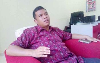 Kasat Reskrim AKP Erwin T H Situmorang. BORNEONEWS/BUDI YULIANTO