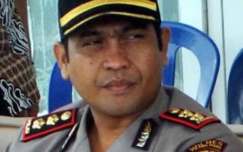 Kapolres Pulang Pisau AKBP Budi Satria Nasution,