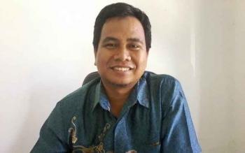 Komisioner KPU Katingan Divisi SDM dan Partisipasi Masyarakat, Usman Sitepu.