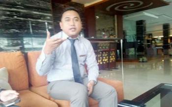 Sales Manajer Swiss Belhotel Danum Palangka Raya Iwan Wahyudi. BORNEONEWS/BUDI YULIANTO